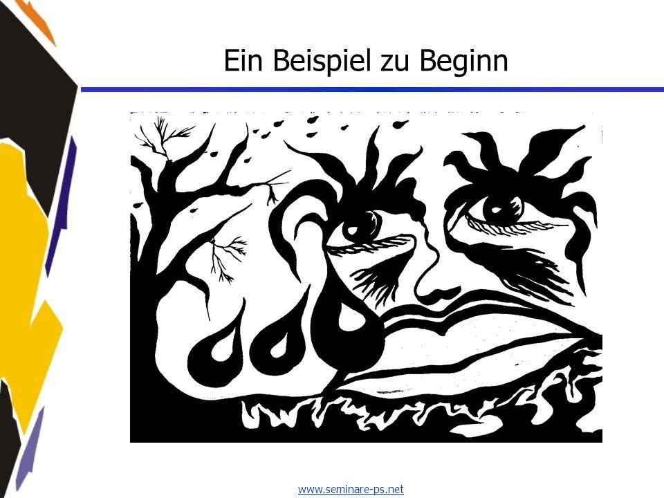 www.seminare-ps.net Ein Beispiel zu Beginn
