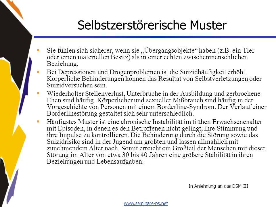 www.seminare-ps.net Schwarz-Weiss-Denken