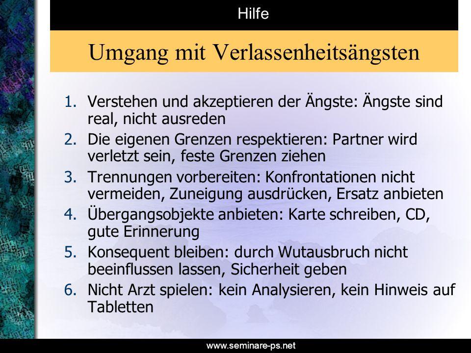 www.seminare-ps.net Literatur Huber M.