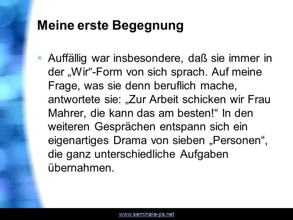 www.seminare-ps.net Lebensgeschichte von Cornelia Cornelia M.