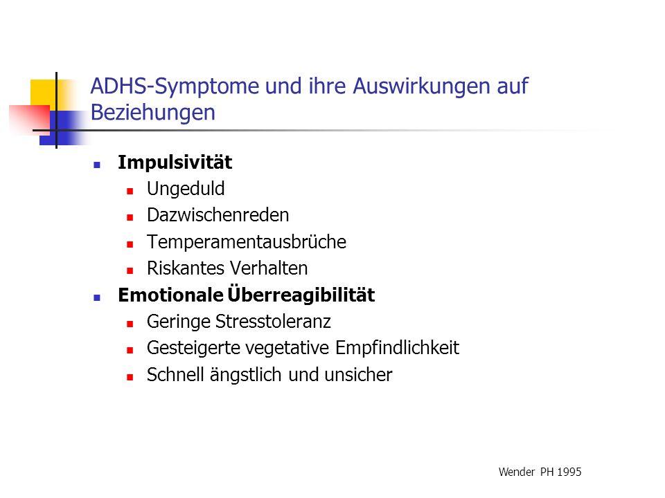 ADHS-Symptome und ihre Auswirkungen auf Beziehungen Auswirkungen auf Beziehungen: Betroffene...