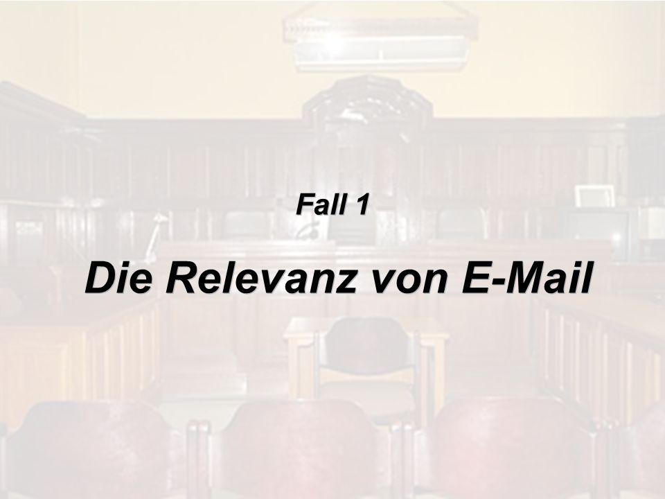 © 2009 IBM Corporation Welchen Rechtscharakter hat E-Mail?