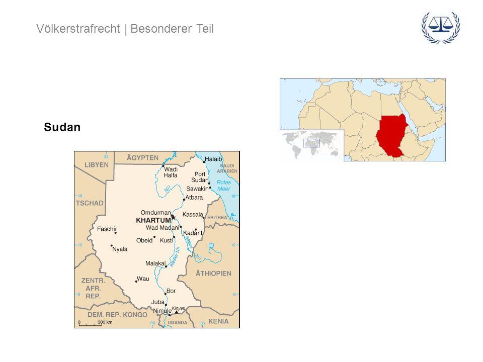 Völkerstrafrecht | Besonderer Teil Sudan