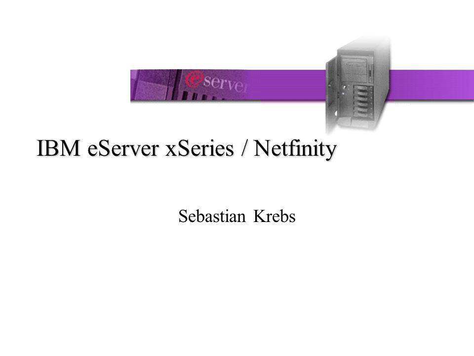 Sebastian Krebs42 Inhalt Die X-Architektur Die Modellreihen der xSeries Das Model xSeries 250 im Detail Einsatzgebiete der xSeries xSeries im Einsatz von SAP R/3 Awards der xSeries