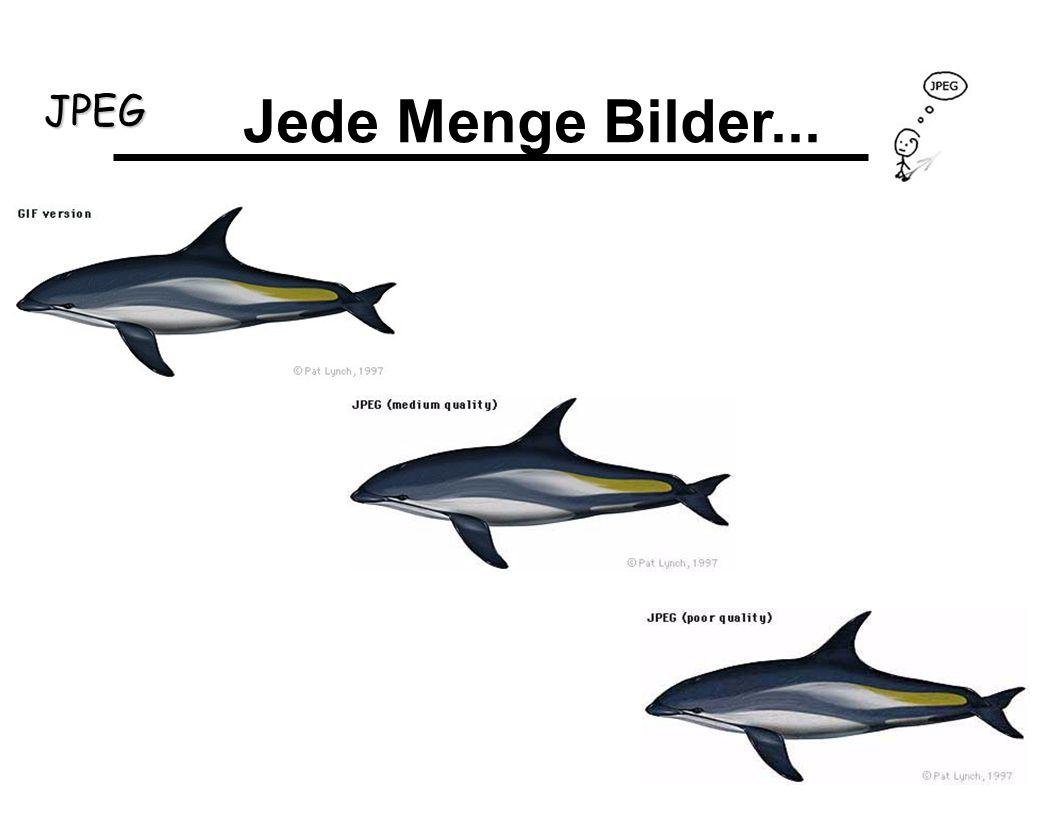 JPEG Jede Menge Bilder...
