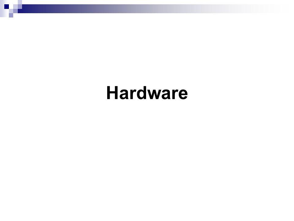 Ausgangssituation Fremdhardware für Projekt erhalten Analyse der Hardware Aufteilung der Komponenten entsprechend den Anforderungen