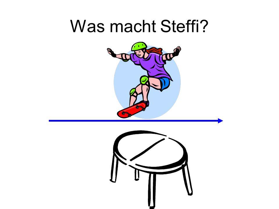 Was macht Steffi?