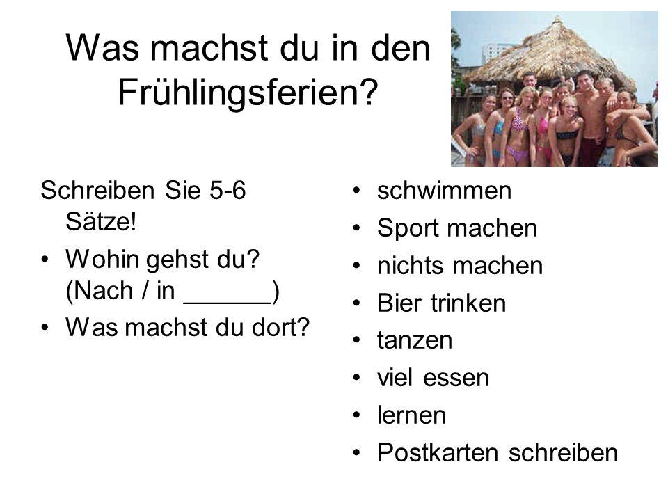 Leute (Seite 43) Eine Schweizerin, eine deutsche Familie und zwei Österreicher 1.Übung 1-48: Vor dem Lesen 2.Sehen Sie die Landkarte an.