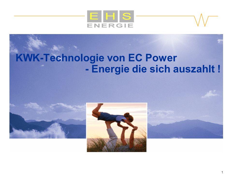 1 KWK-Technologie von EC Power - Energie die sich auszahlt !