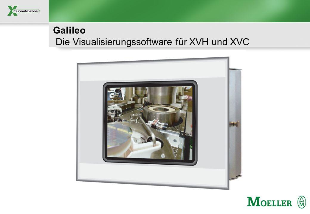 Schutzvermerk nach DIN 34 beachten Galileo Die Visualisierungssoftware für XVH und XVC