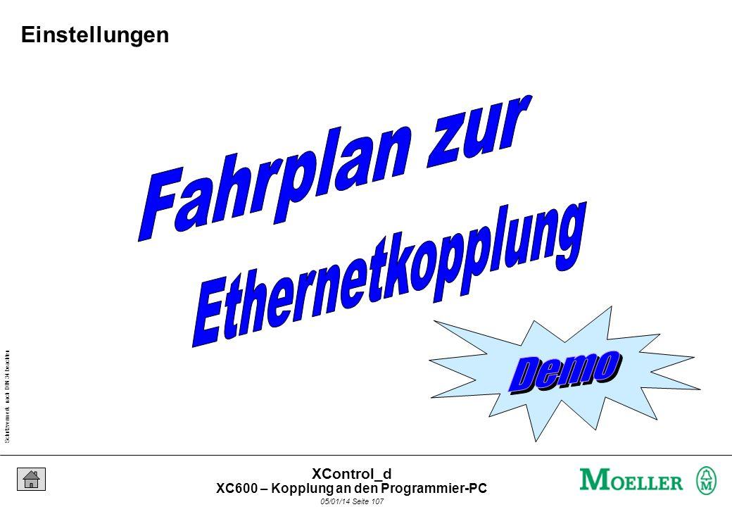 Schutzvermerk nach DIN 34 beachten 05/01/14 Seite 106 XControl_d Crosslink-Cabel IP-ADRESSE: 010.002. 012.221 >ZURÜCK SUBNETMAS: 255.255. 255.000 >ZUR