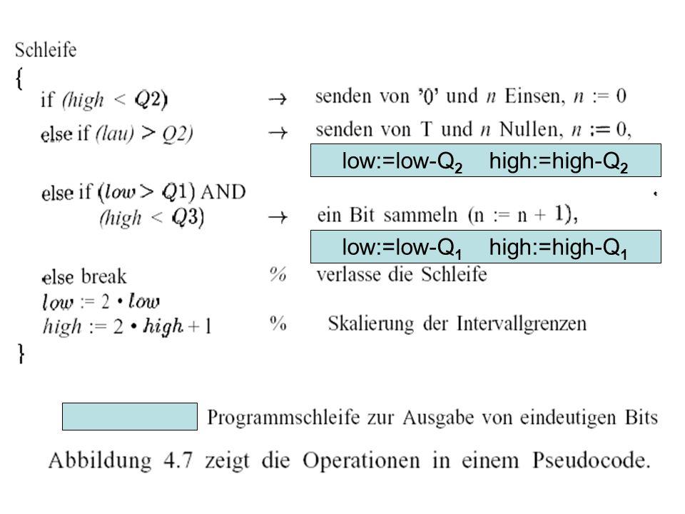 low:=low-Q 2 high:=high-Q 2 low:=low-Q 1 high:=high-Q 1
