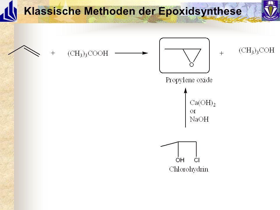 Klassische Methoden der Epoxidsynthese
