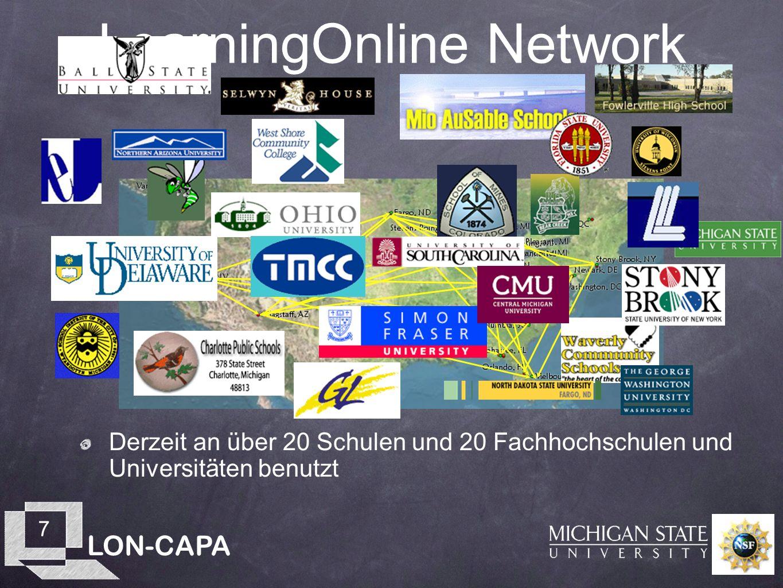LON-CAPA 8 LearningOnline Network