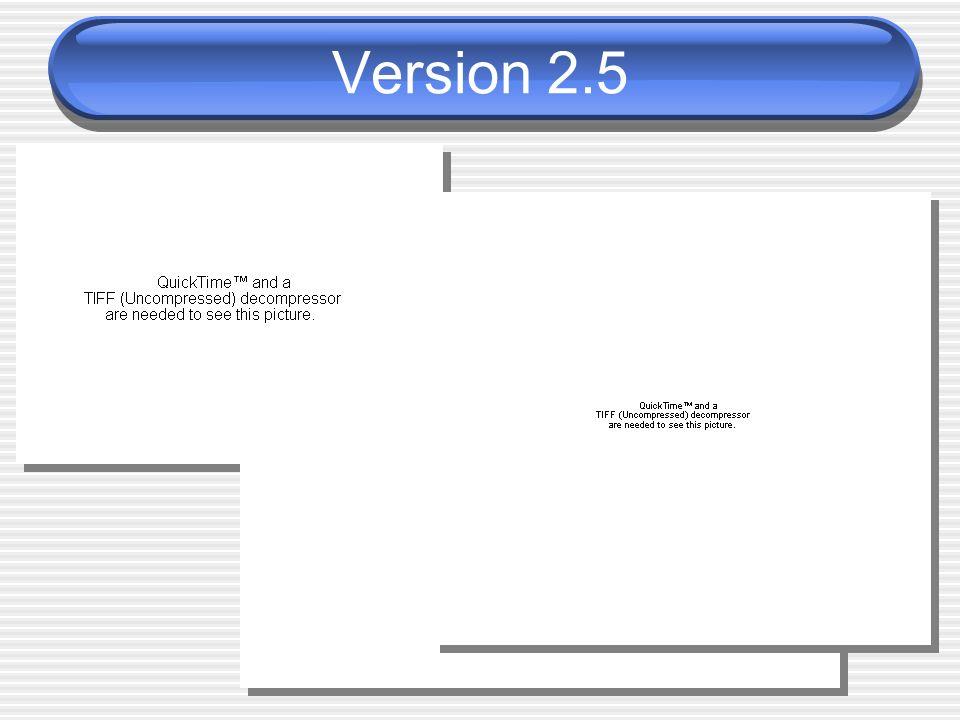 Version 2.5