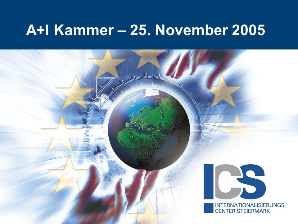 A+I Kammer – 25. November 2005