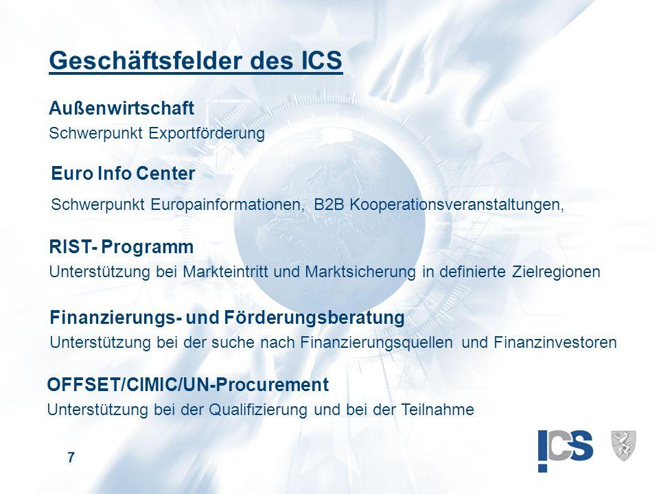 8 Danke für ihre Aufmerksamkeit .InternationalisierungsCenter Steiermark GmbH Mag.