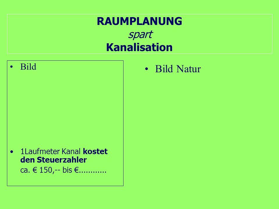 RAUMPLANUNG spart Hochwasserschutzmaßnahmen Bild 1Laufmeter........