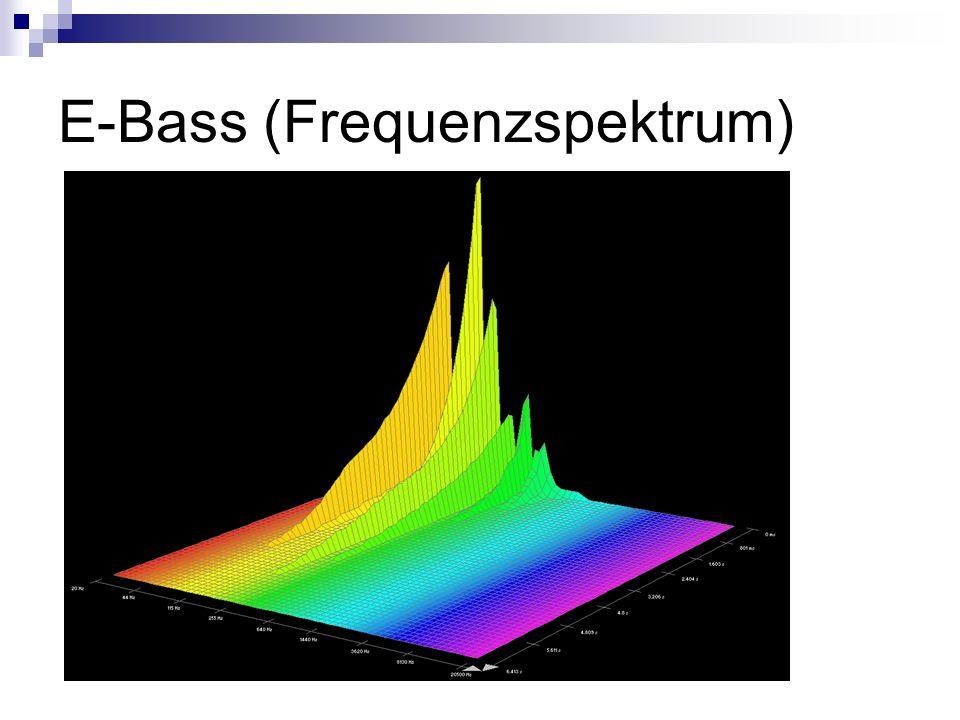 E-Bass (Frequenzspektrum)