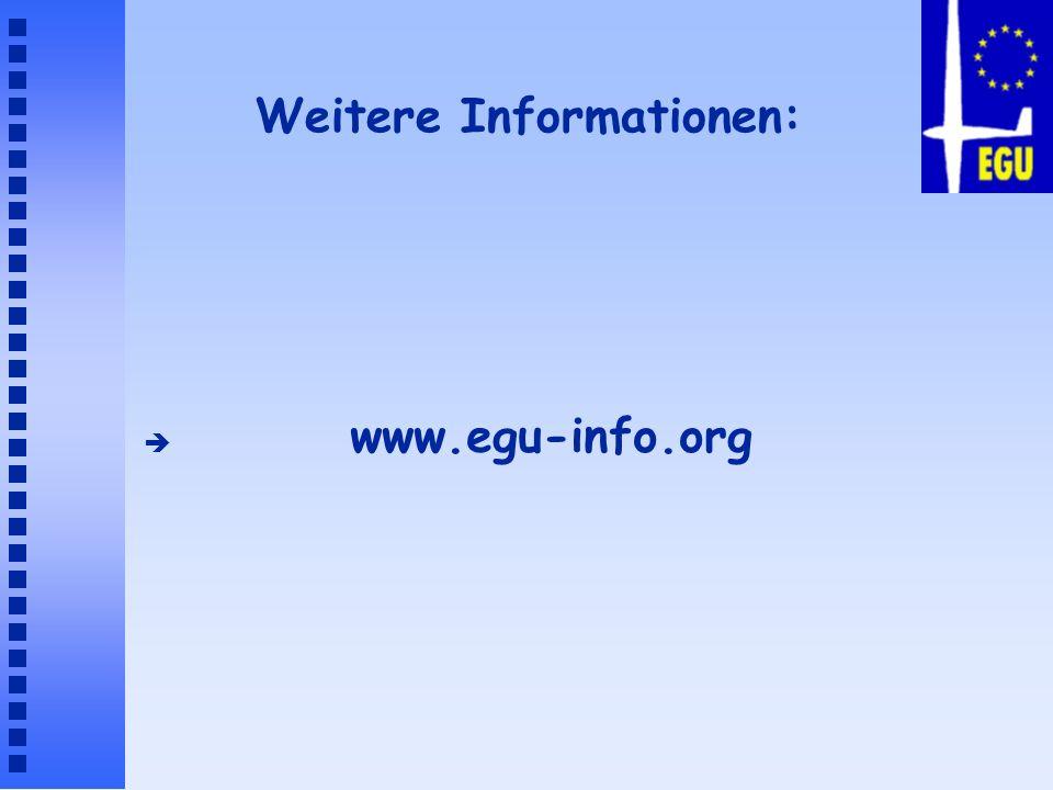 Weitere Informationen: è www.egu-info.org