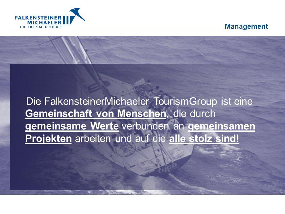 Die FalkensteinerMichaeler TourismGroup ist eine Gemeinschaft von Menschen, die durch gemeinsame Werte verbunden an gemeinsamen Projekten arbeiten und