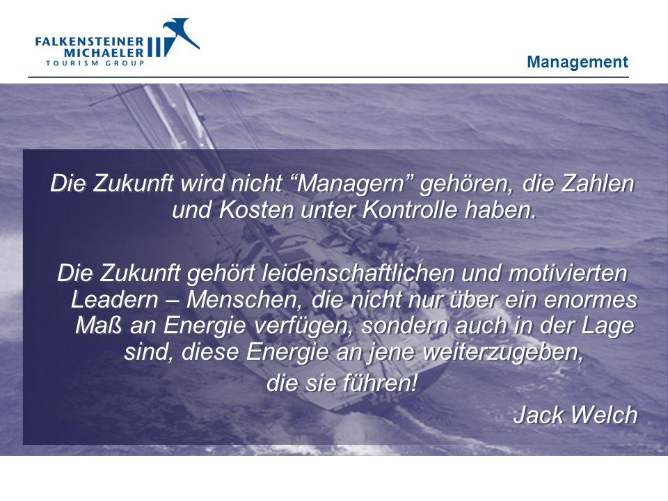 Die Zukunft wird nicht Managern gehören, die Zahlen und Kosten unter Kontrolle haben. Die Zukunft gehört leidenschaftlichen und motivierten Leadern –