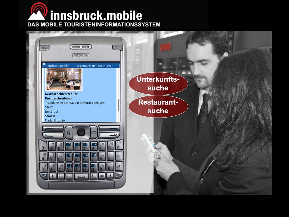 16 www.etourism-austria.at © copyright ECCA Unterkunfts- suche Restaurant- suche