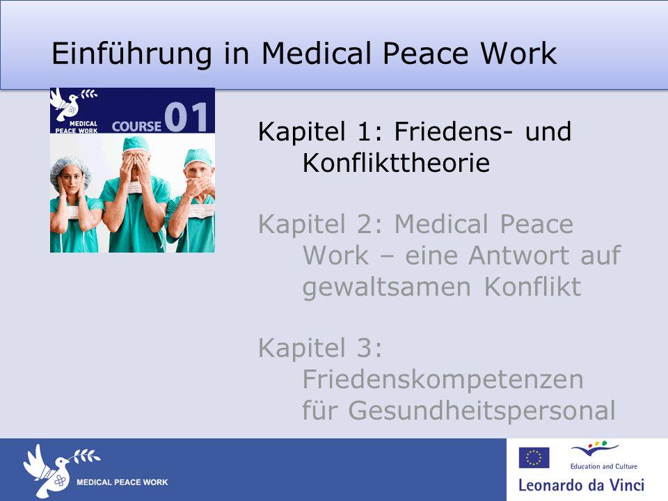 Warum befasst sich Gesundheitspersonal mit Friedensfragen.
