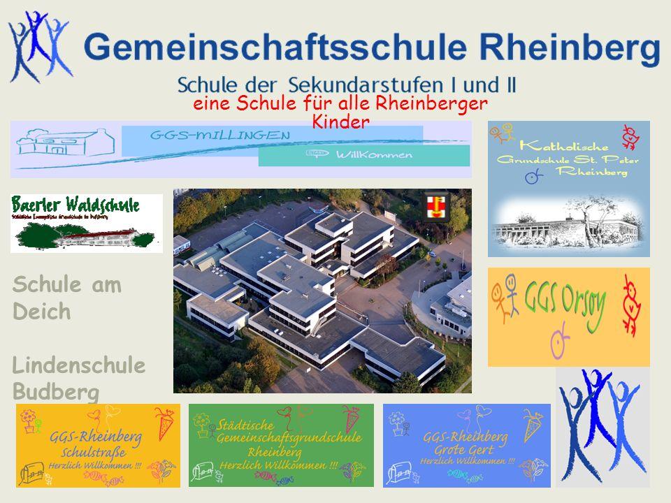 Zertifizierungsantrag Schule am Deich Lindenschule Budberg eine Schule für alle Rheinberger Kinder