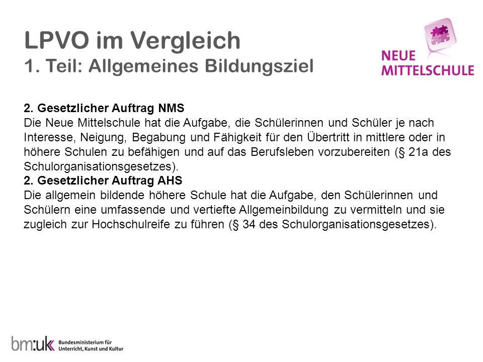 Aus der BiSt-Verordnung 2. Jänner 2009