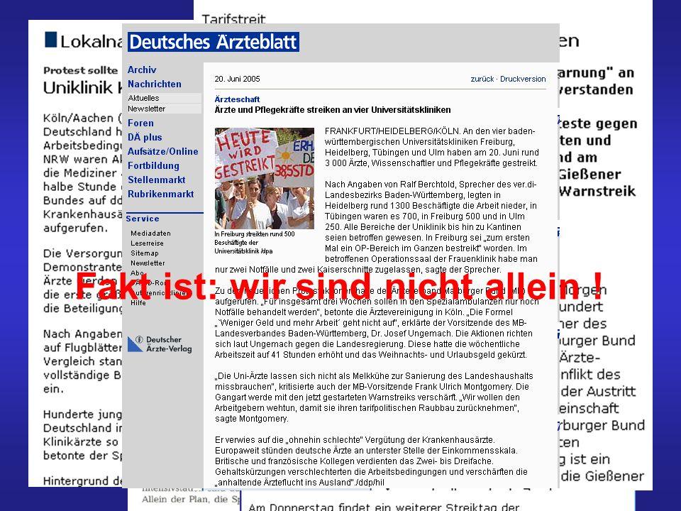 Fakt ist: wir sind nicht allein Heidelberg Fakt ist: wir sind nicht allein !