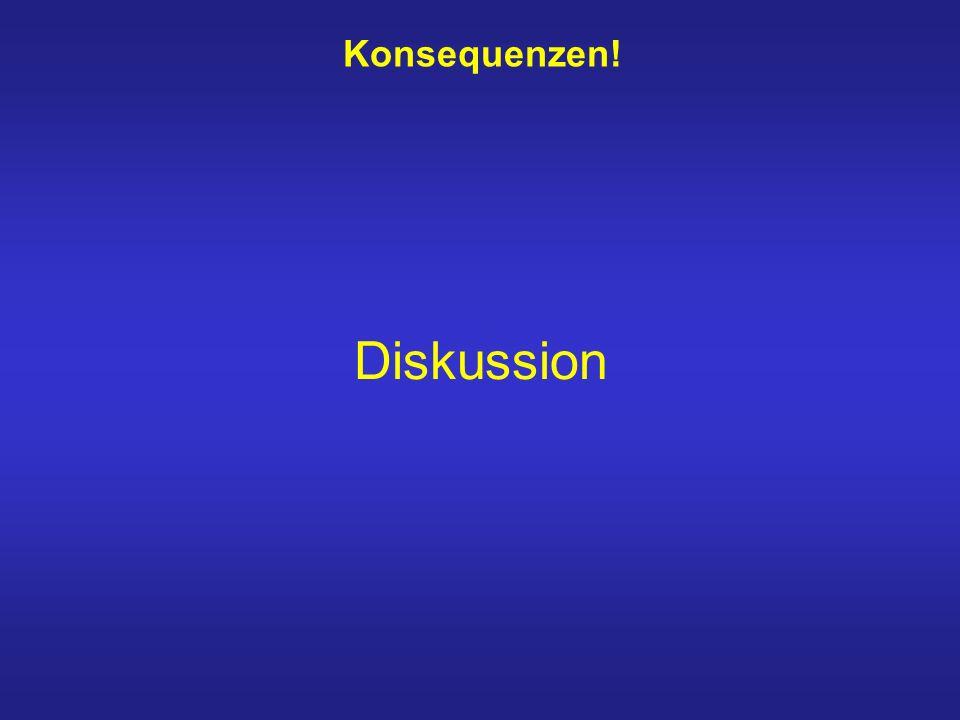 Konsequenzen! Diskussion