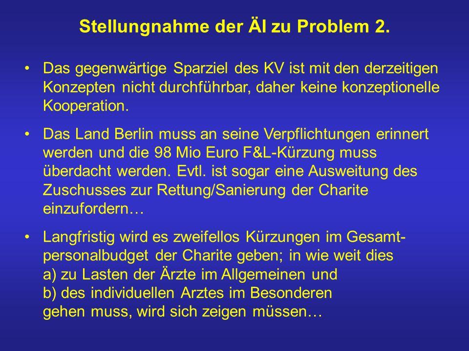 Stellungnahme der ÄI zu Problem 2.