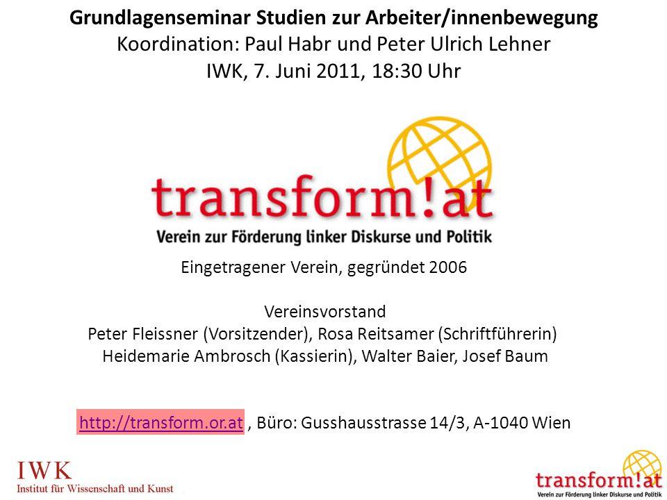 Eingetragener Verein, gegründet 2006 Vereinsvorstand Peter Fleissner (Vorsitzender), Rosa Reitsamer (Schriftführerin) Heidemarie Ambrosch (Kassierin),