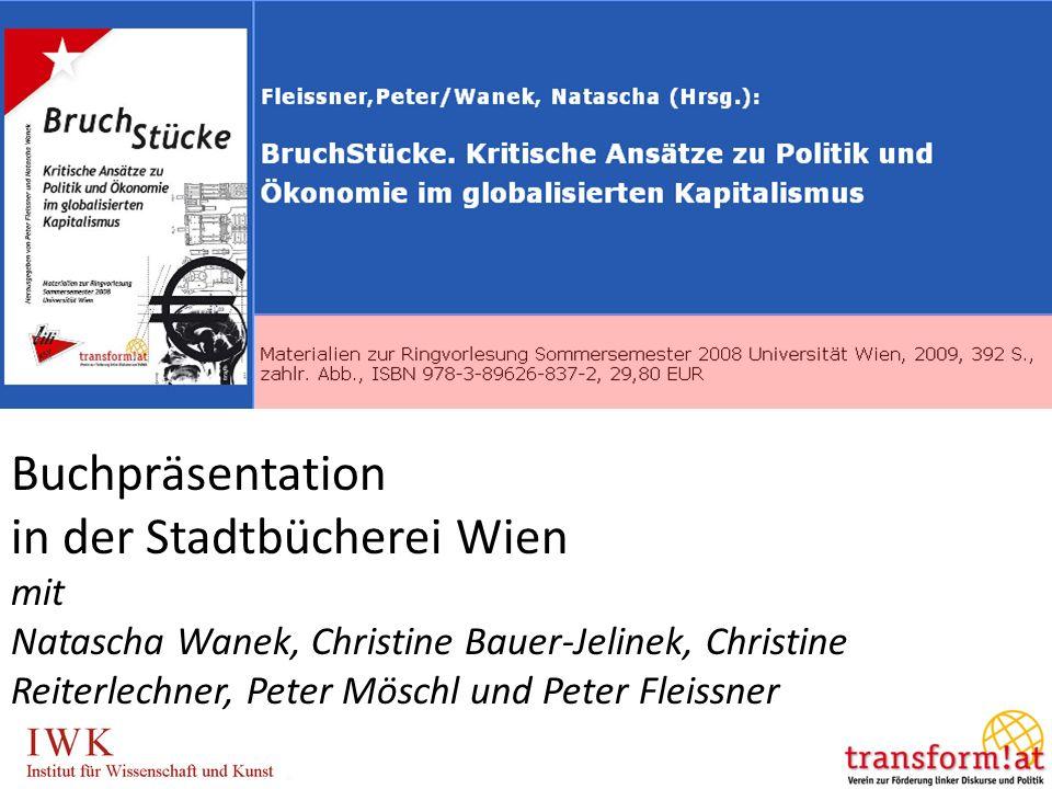 Erneuerung des Sozialstaats in Europa Chance gegen den Neoliberalismus Gesellschaftspolitisches Forum am 7. Oktober 2006 in Dortmund Buchpräsentation
