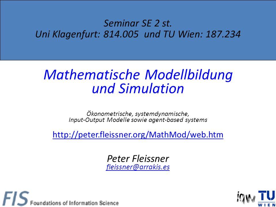 Seminar SE 2 st.