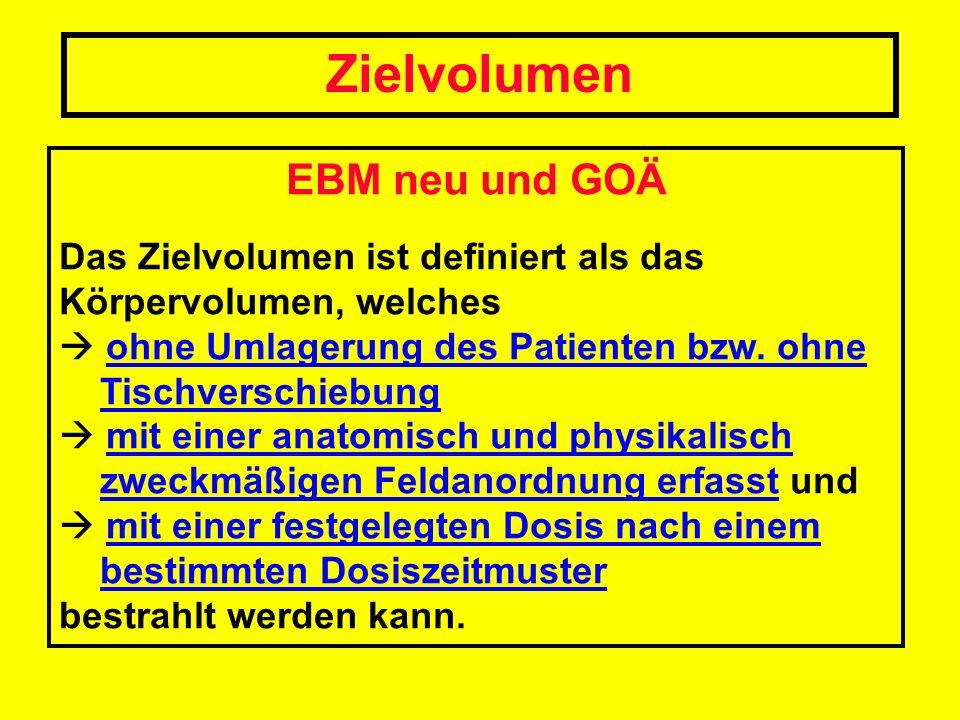 Steigerungsfaktoren Leistungen aus den GOÄ-Abschnitten A, E, OM + Nr.