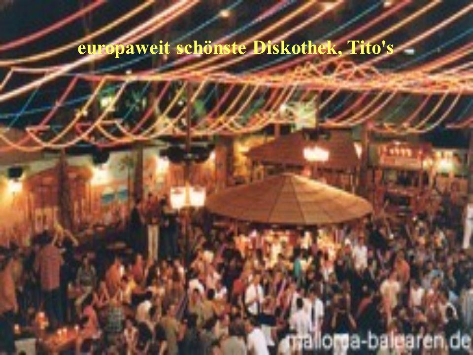 europaweit schönste Diskothek, Tito's
