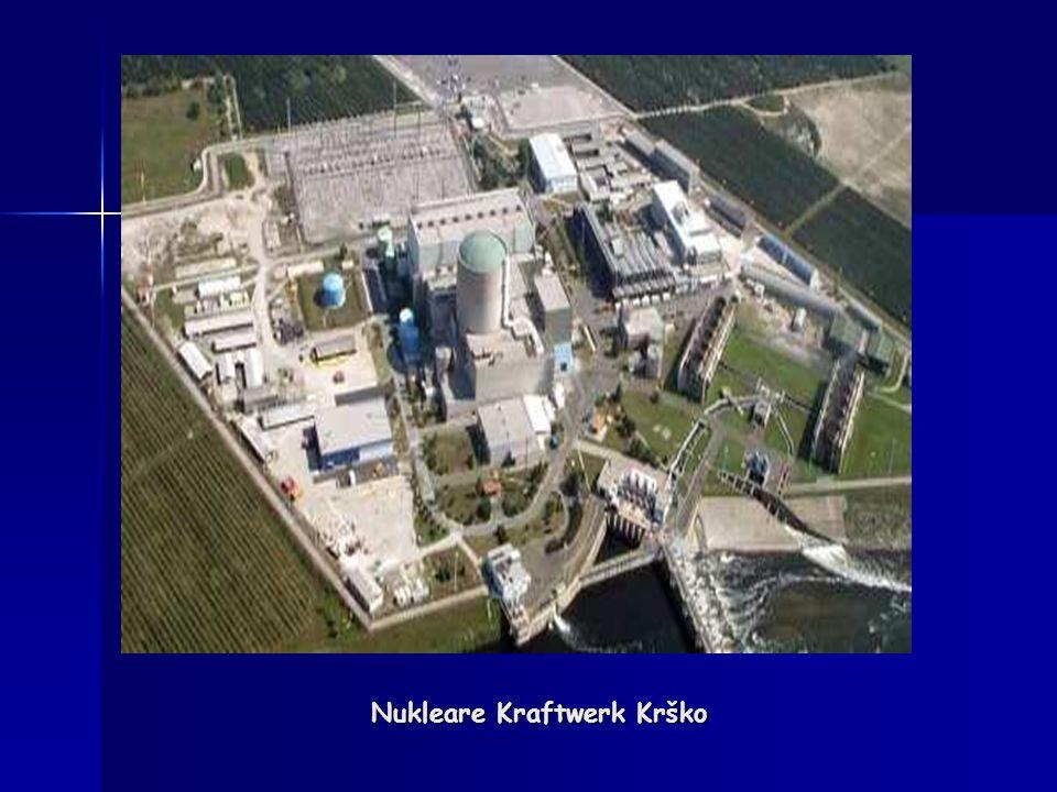 Radioaktive Abfälle in nukleare Kraftwerk Krško