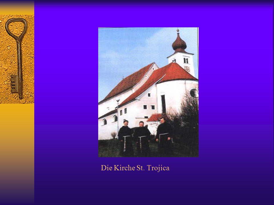 Die Kirche St. Trojica
