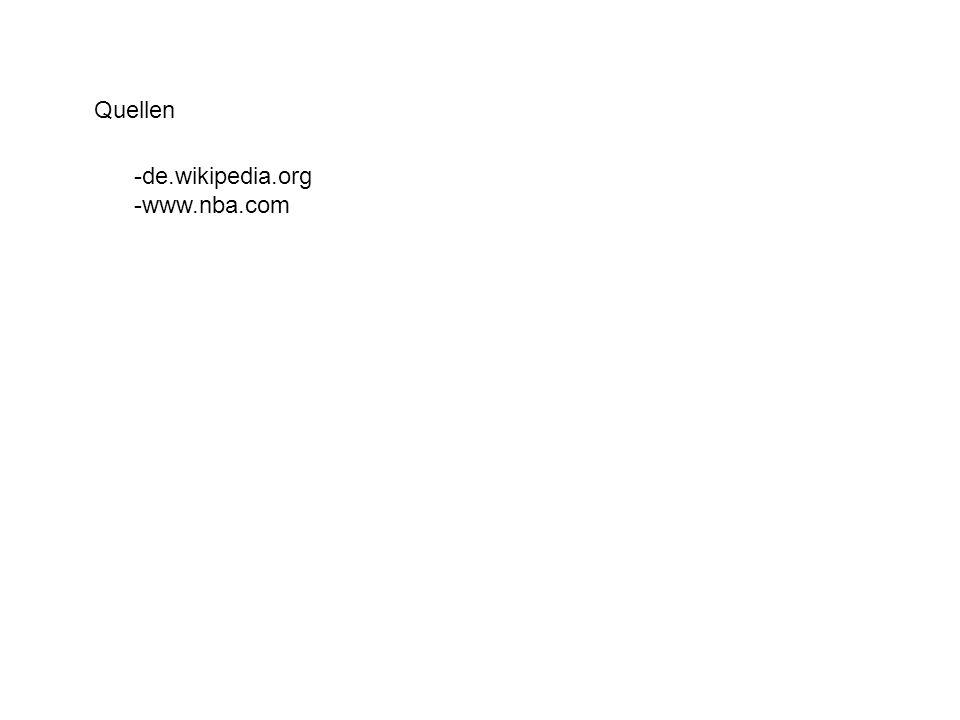 Quellen -de.wikipedia.org -www.nba.com