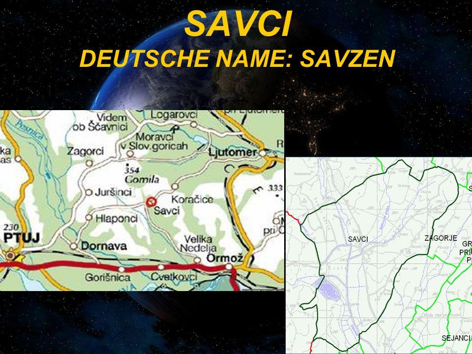 SAVCI DEUTSCHE NAME: SAVZEN