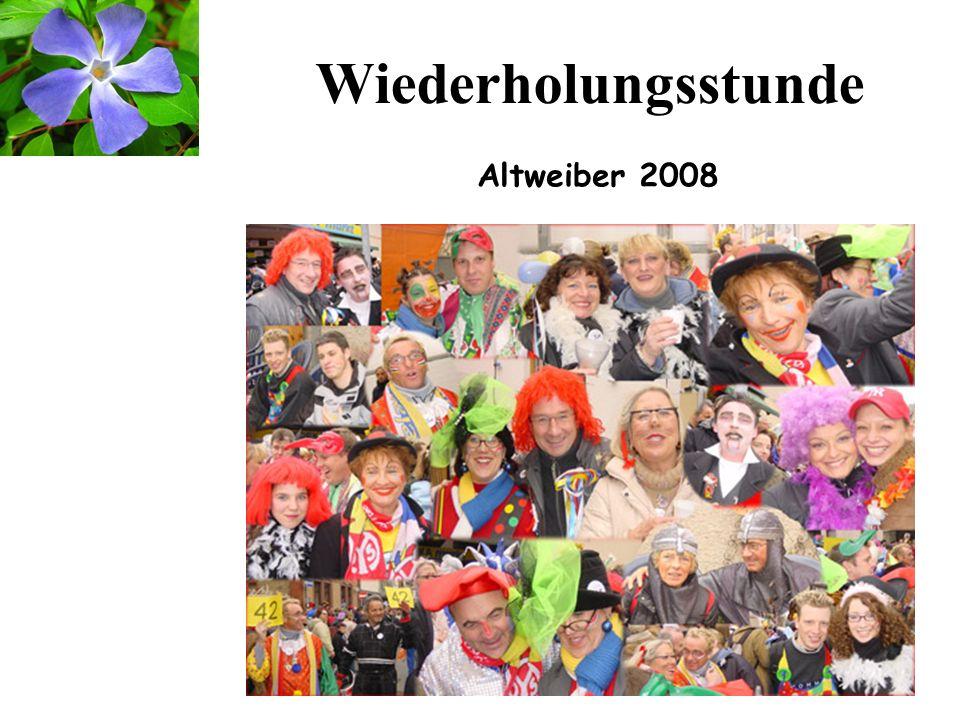 12 Am Rosenmontag bin ich geboren Wähle 06131 (dann hast du Mainz an der Strippe) Margit Sponheimer