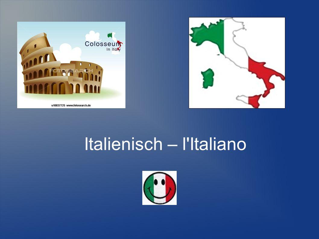 Italienisch – l'Italiano