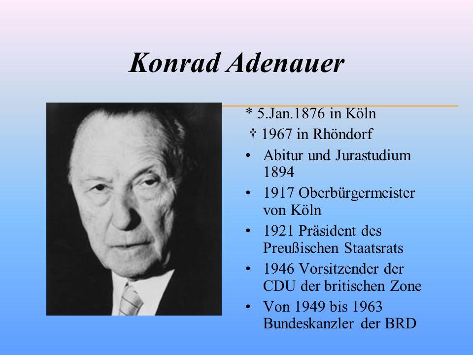 Adenauer im Nationalsozialismus 1933: 19.