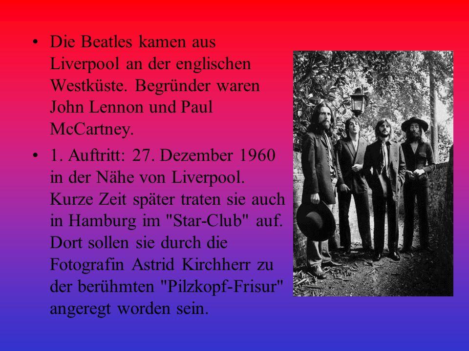 Die Beatles veröffentlichten über 180 Titel auf über 50 Singles und LPs.