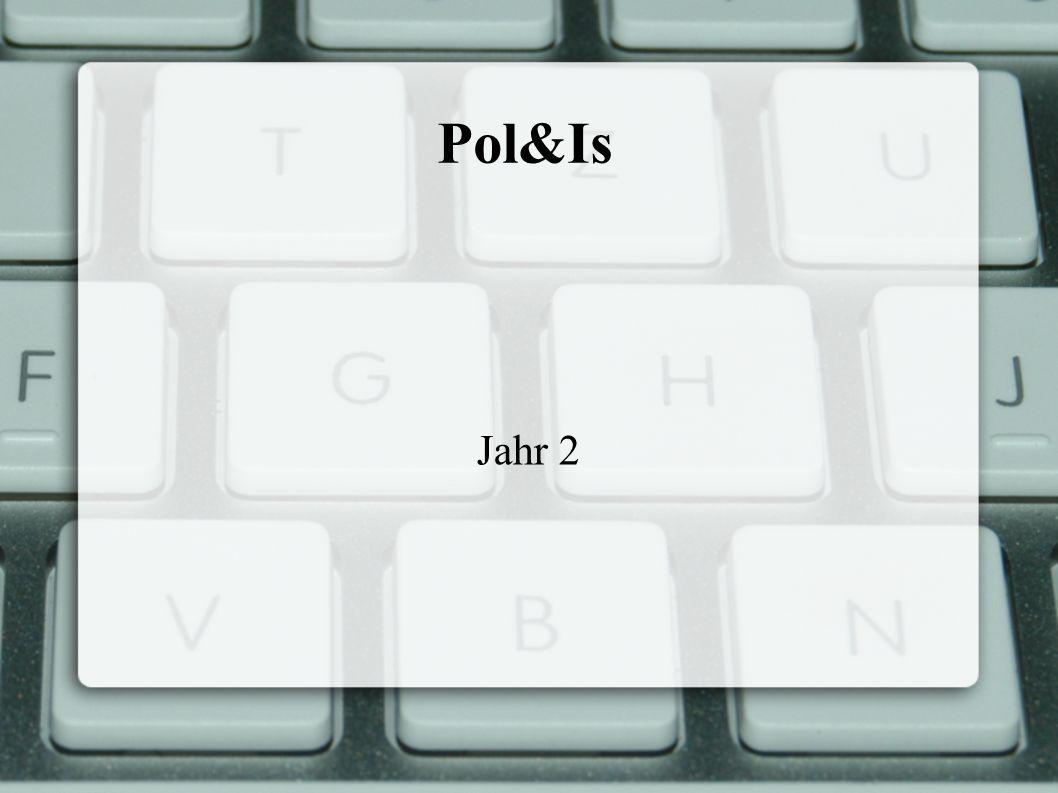 Pol&Is Jahr 2