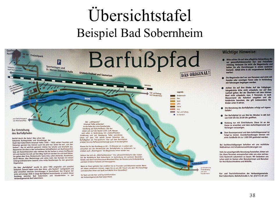 38 Übersichtstafel Beispiel Bad Sobernheim