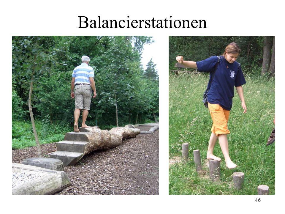 46 Balancierstationen