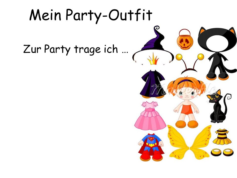 Zur Party trage ich … Mein Party-Outfit